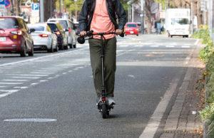 公道走行可能な電動キックボードならZERO9